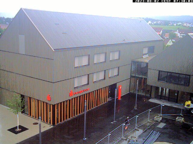 Aldinger Webcam, Blick auf Hauptstraße